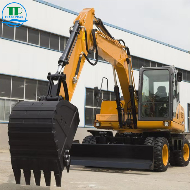 Wheeled Excavator Featured Image