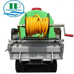 TRADE PEAK 500KG crawler  watering cart mini  crawler  watering cart