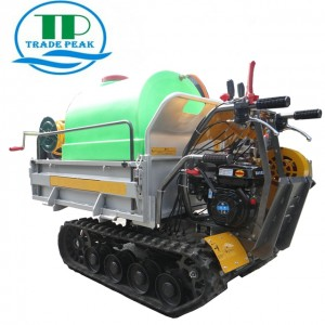 TRADE PEAK 500KG crawler  watering cart mini  crawler  watering cart